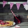 Skovbær- og rødebede-is!