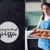 Hjemmebagt pizza med champignon og artiskok