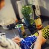 Opskrift: Sommersalat med asparges og krebsehale