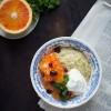 Opskrift: Chiagrød med appelsin og mango