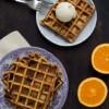 Opskrift: Belgiske vafler med appelsin og chokolade
