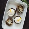 YouTube-opskrift: Fyldte portobellosvampe med pocheret æg