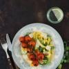 Opskrift: Pasta med bagte tomater