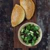 Opskrift: Vegetariske pirogger med portobellosvampe, quinoa og oliven