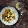 Video-opskrift: Salat med rosenkål og kikærter