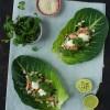 Opskrift: Kålwraps med laks, agurk og fennikel