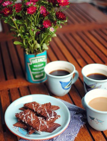 Opskrift: Chokolade-kiks | Frk. Kræsen