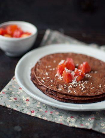 Opskrift: Pandekager med chokolade