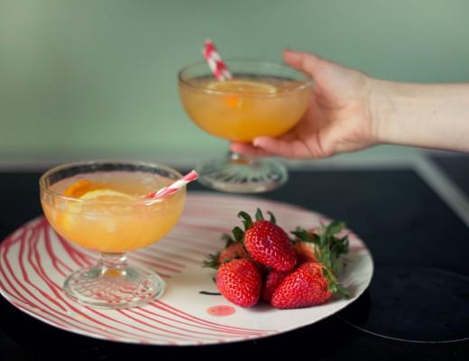 Opskrift: Drink med appelsin og gin