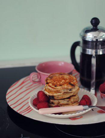 Opskrift: Amerikanske pandekager med chokolade