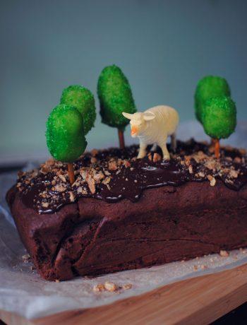 Opskrift: Chokoladekage   Frk. Kræsen