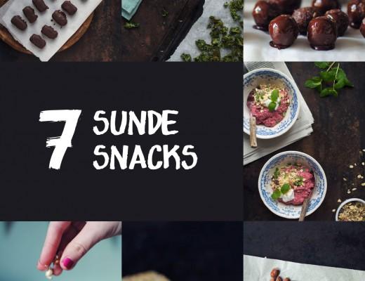 Opskrift: Sunde snacks