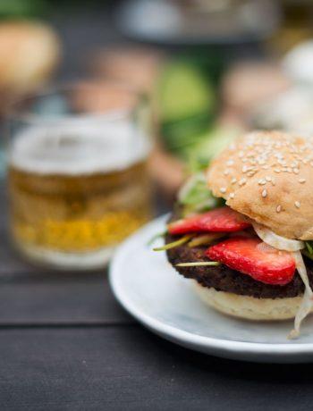 Opskrift: Vegetar burger
