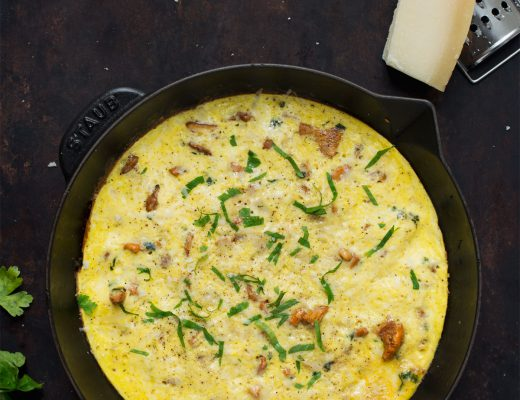 Opskrift: Omelet med kantareller | Frk. Kræsen