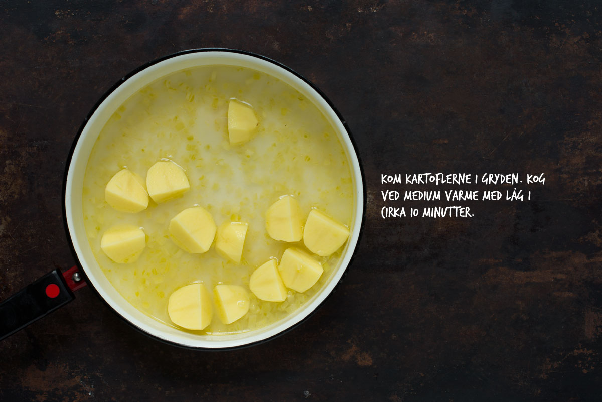 Opskrift: Fiskesuppe med laks | Frk. Kræsen