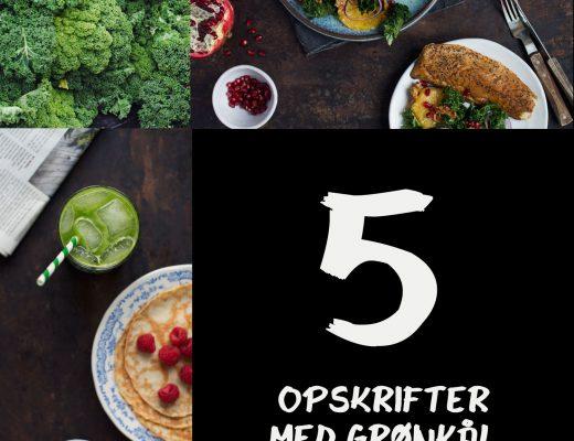 Opskrift: 5 retter med grønkål | Frk. Kræsen