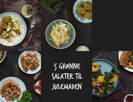 5 grønne salater til julemaden | Frk. Kræsen