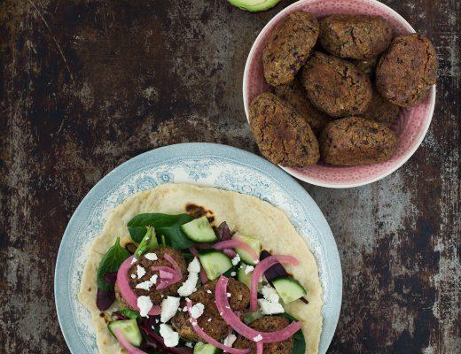 Opskrift: Falafel med oliven, citron og timian | Frk. Kræsen