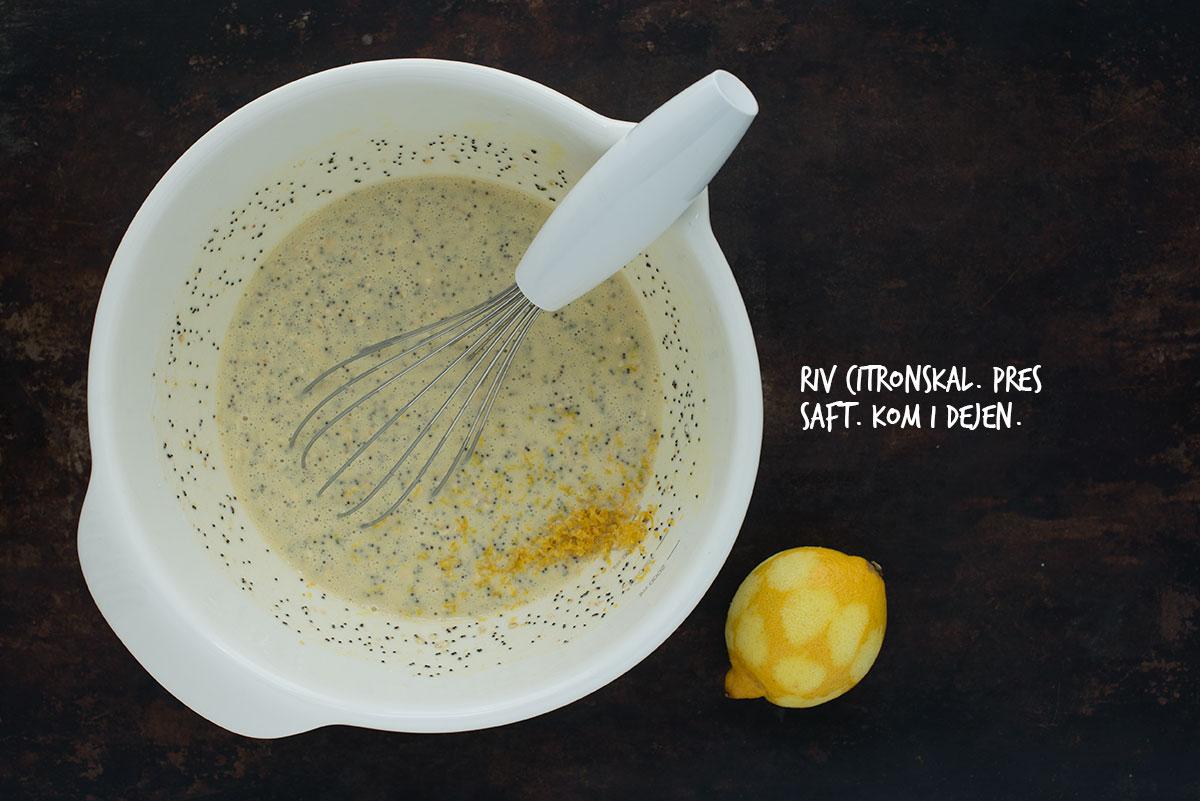 Opskrift: Vafler med citron og birkes | Frk. Kræsen