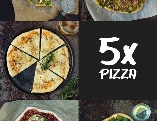 5x hjemmelavet pizza | Frk. Kræsen