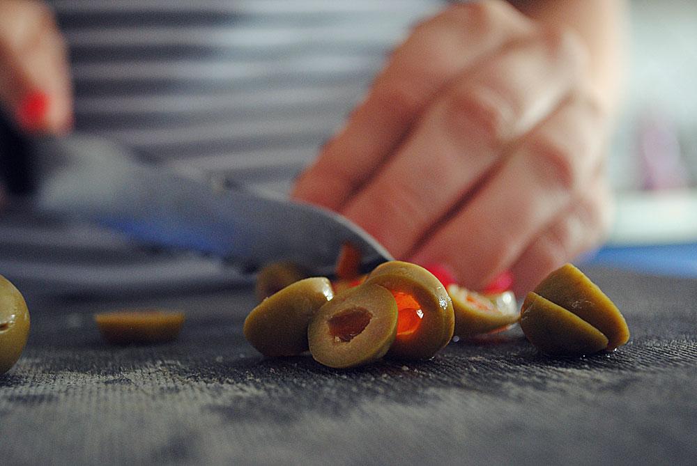 Opskrift: Boller med oliven og løg | Frk. Kræsen