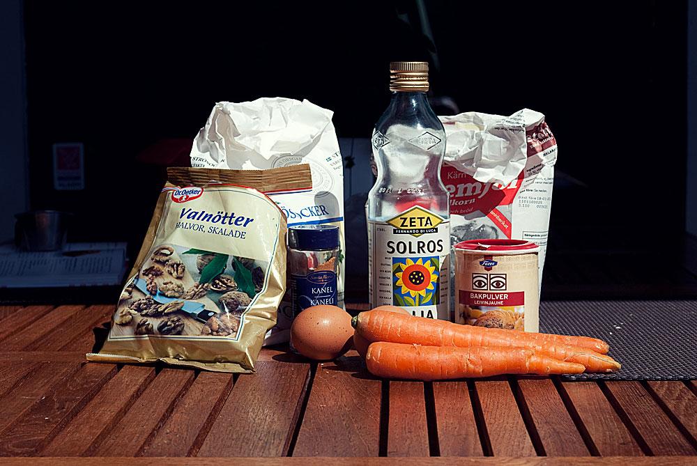 Opskrift: Gulerodsmuffins | Frk. Kræsen