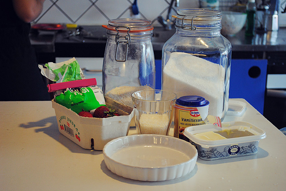 Opskrift: Jordbærtærte | Frk. Kræsen