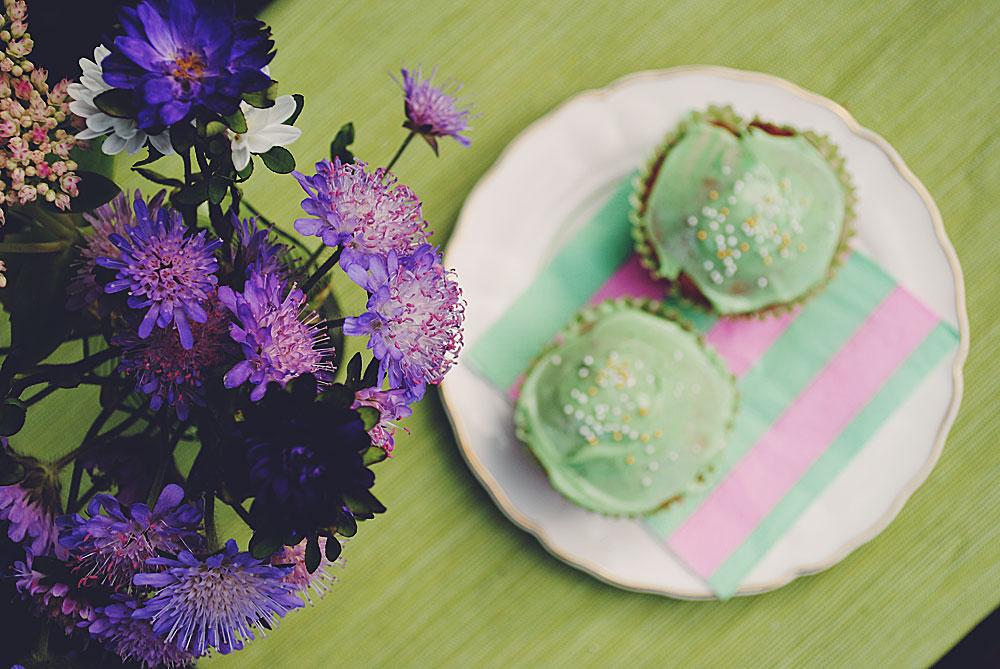 Opskrift: Cupcakes med æbler   Frk. Kræsen