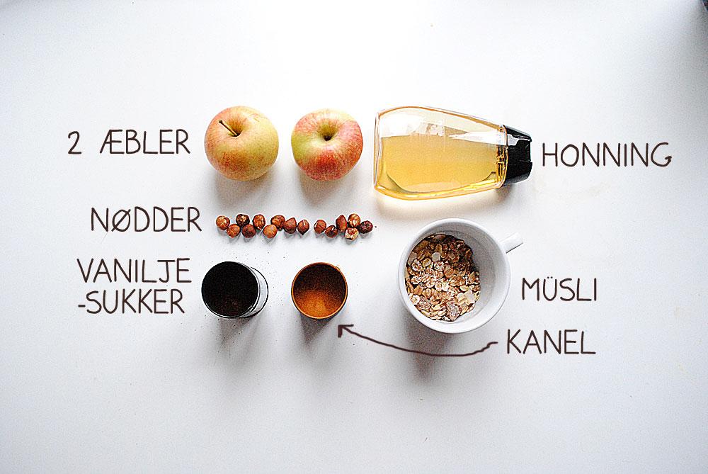 Opskrift: Æble-snack | Frk. Kræsen
