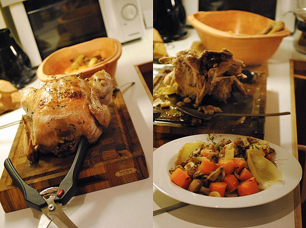 Kylling i Römertopf | Frk. Kræsen