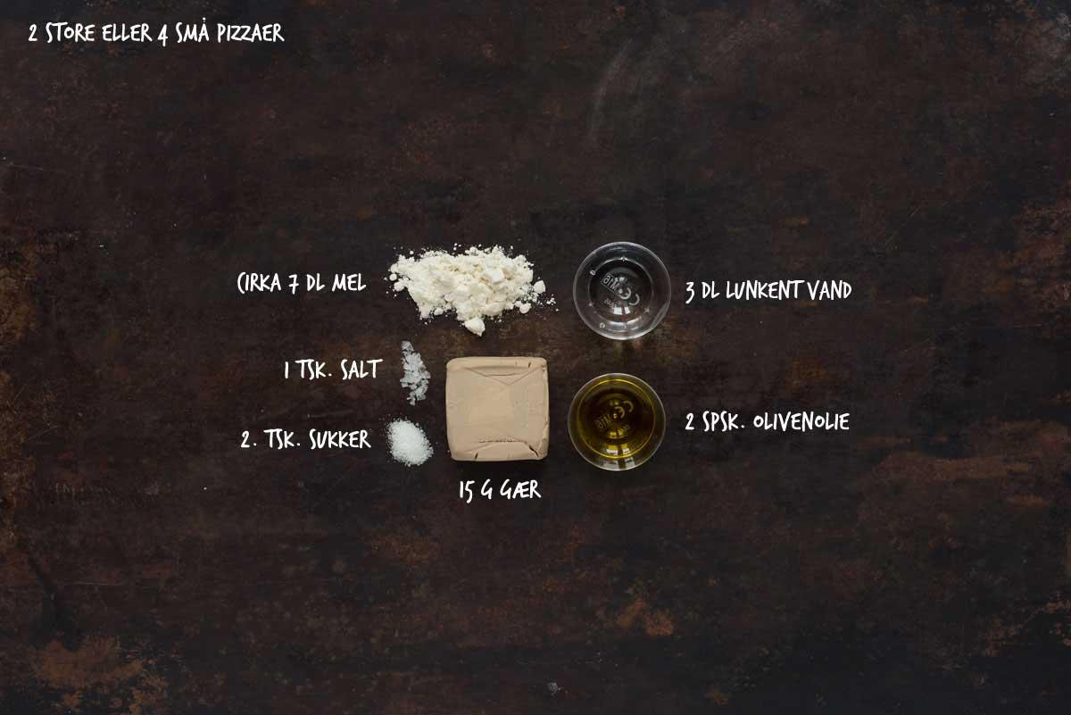 Opskrift: Hjemmelavet pizzadej | Frk. Kræsen