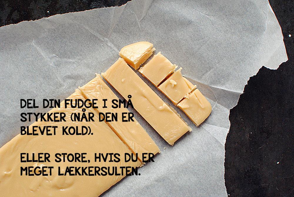 Hvid chokoladefudge | Frk. Kræsen