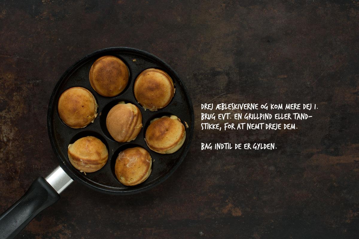 Opskrift: Hjemmelavede æbleskiver | Frk. Kræsen