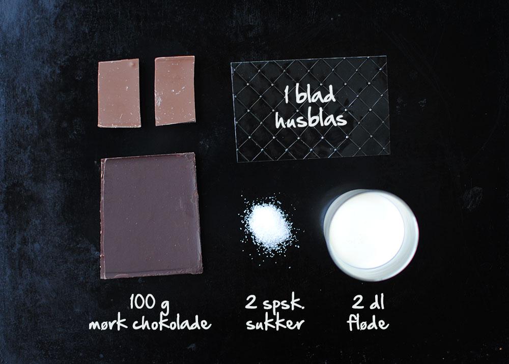 Opskrift: Panna cotta med chokolade | Frk. Kræsen