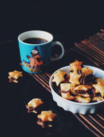 Opskrift: Butterdej-kiks med nutella | Frk. Kræsen