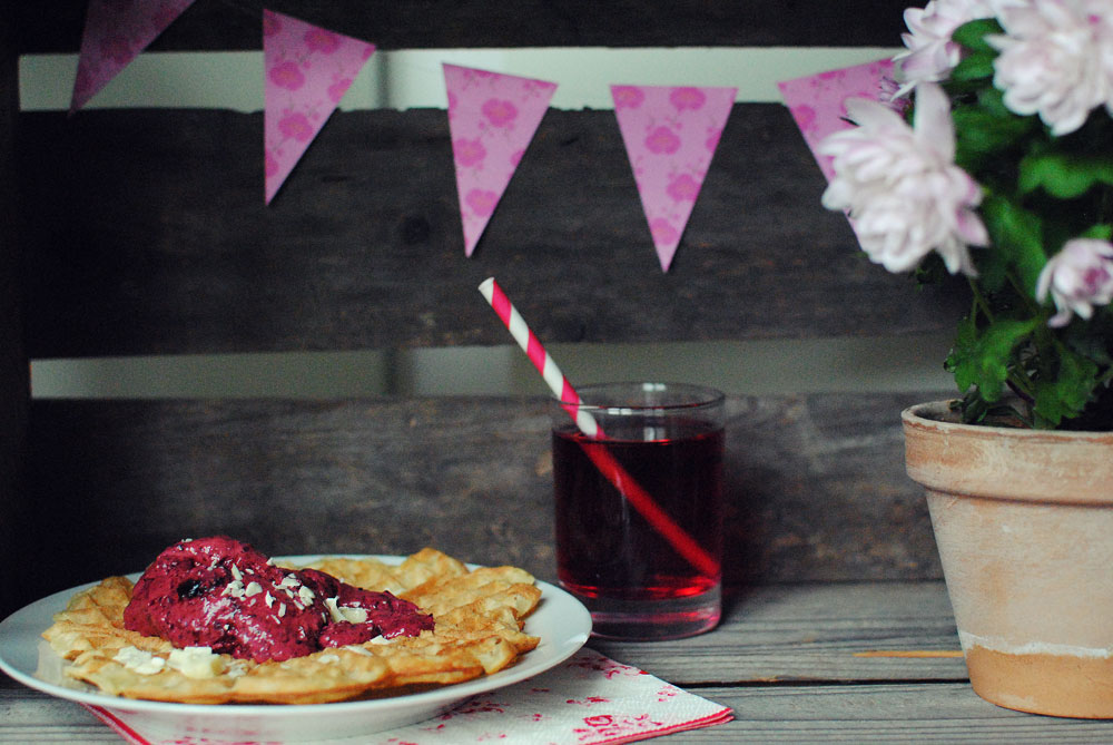 Opskrift: Skovbær - og rødbedeis   Frk. Kræsen