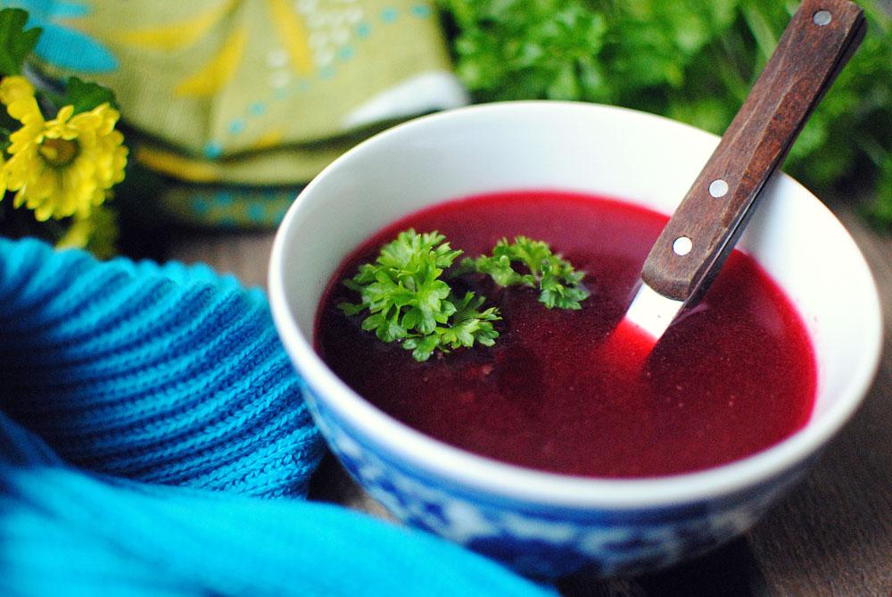 Opskrift: Rødbedesuppe | Frk. Kræsen
