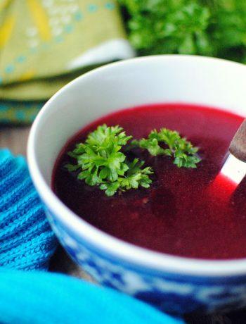 Opskrift: Rødebedesuppe