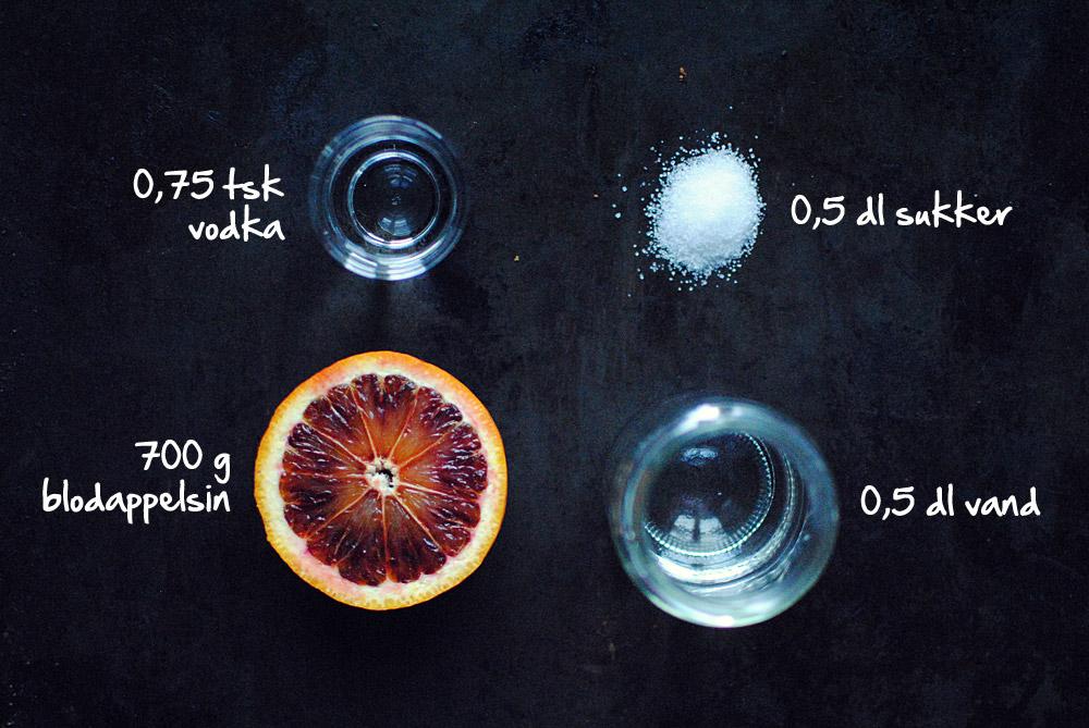 Opskrift: Ispinde med blodappelsin | Frk. Kræsen