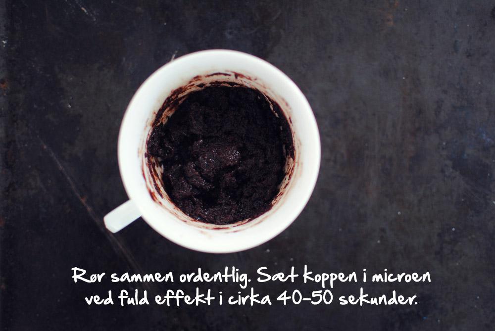 Opskrift: Chokoladekage på 1 minut | Frk. Kræsen
