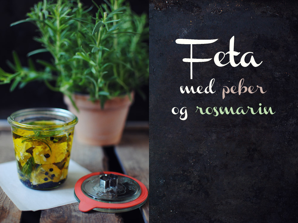 Opskrift: Feta med peber og rosmarin | Frk. Kræsen