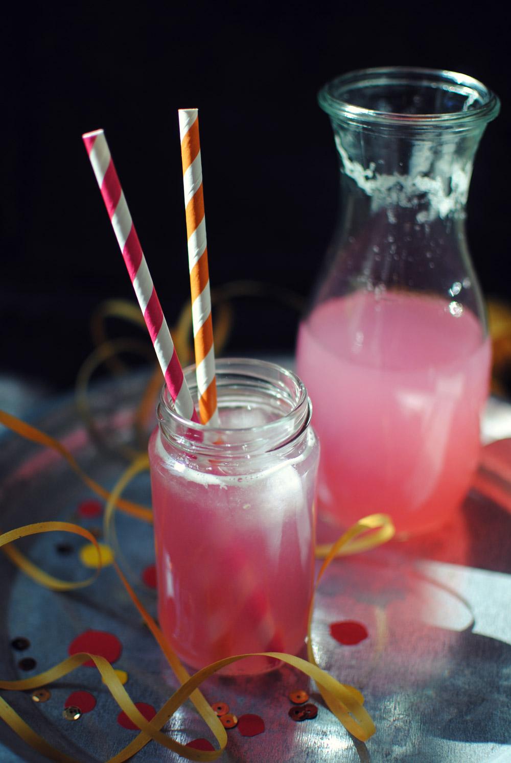 Opskrift: Pink lemonade | Frk. Kræsen