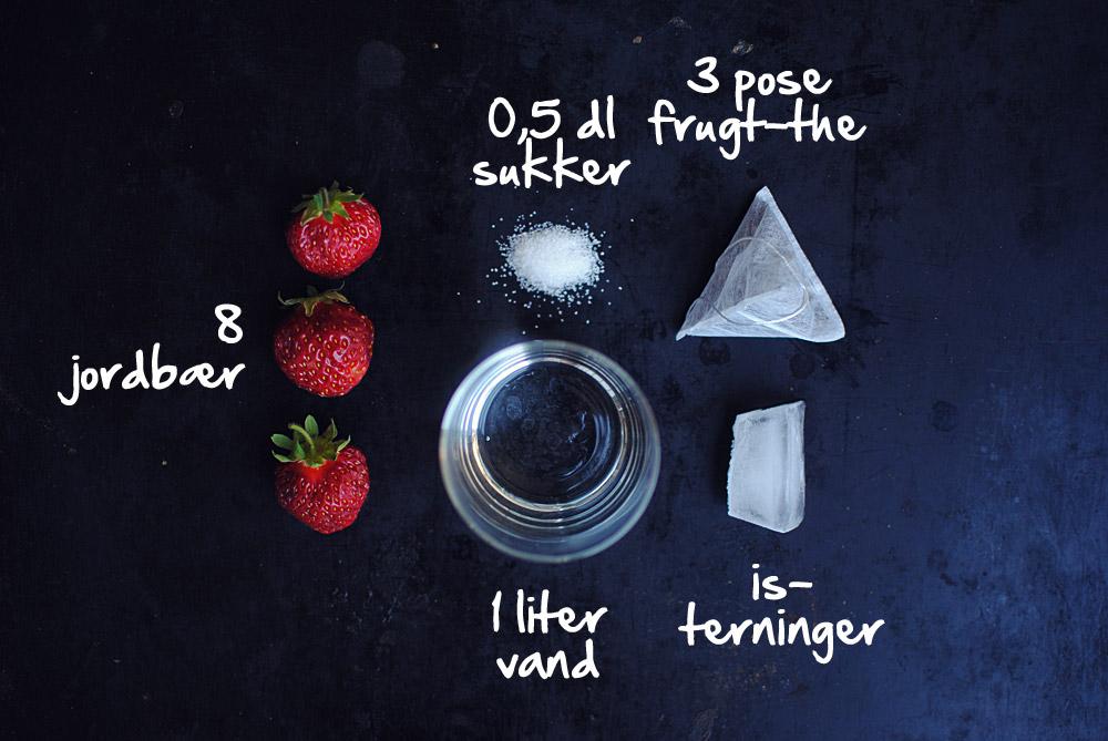 Opskrift: Iste med jordbær   Frk. Kræsen