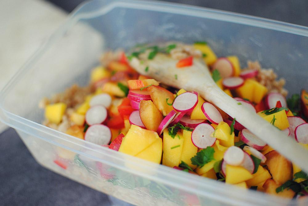 Opskrift: Salat med perlebyg | Frk. Kræsen