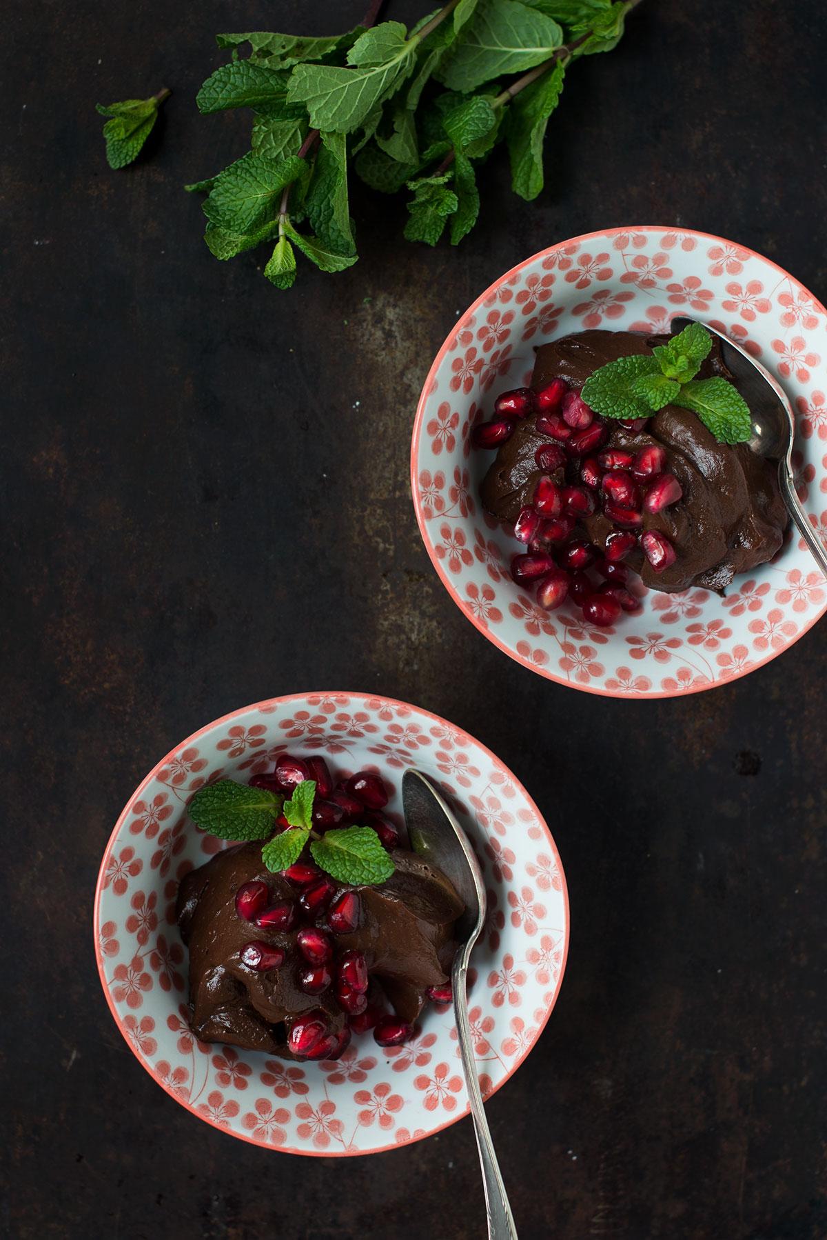 Opskrift: Chokolademousse med avocado | Frk. Kræsen