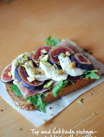 Opskrift: Sandwich med mozzarella og figner | Frk. Kræsen