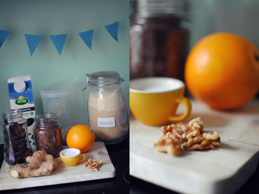 Opskrift: Grød med appelsin og ingefær | Frk. Kræsen