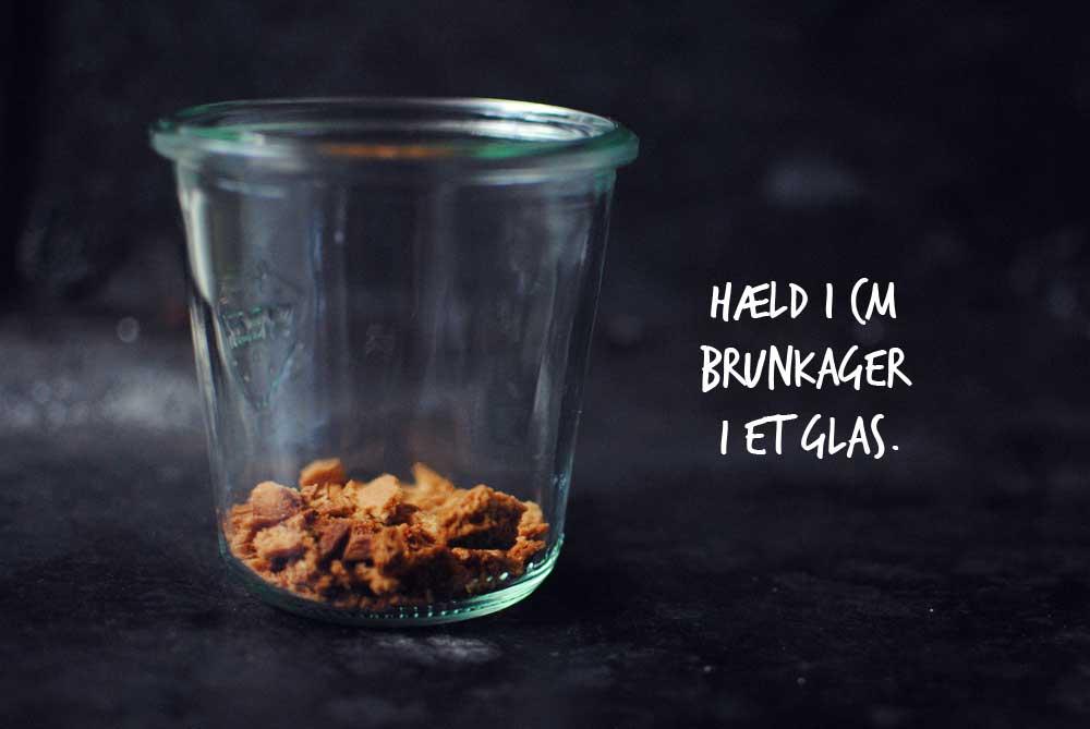 Opskrift: Trifli med appelsin og brunkager | Frk. Kræsen