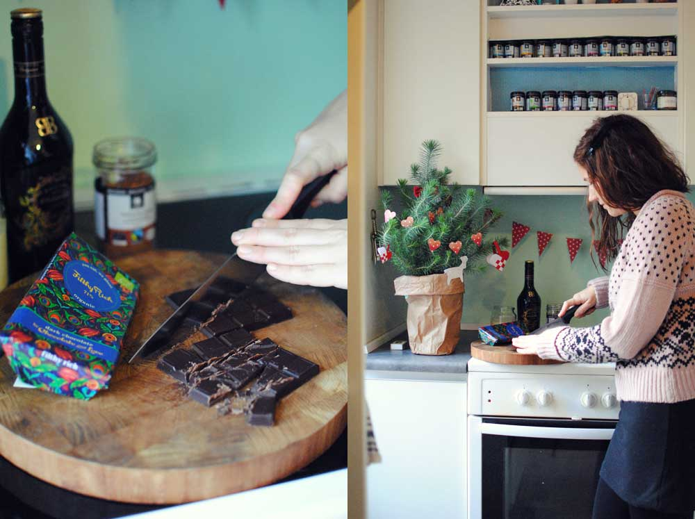 Opskrift: Chokoladetrøffel med Baileys | Frk. Kræsen