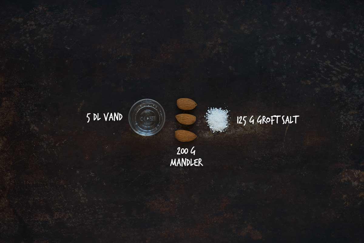 Opskrift: Saltede mandler | Frk. Kræsen